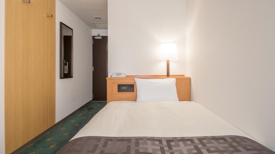 【シングルルーム】13平米/120cm幅ベッド