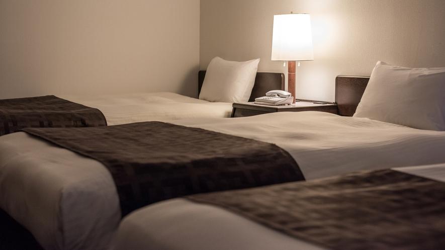 【トリプルルーム】20平米/110cm幅ベッド