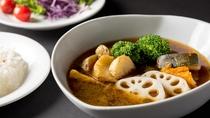 【朝食】札幌発祥・スープカレー♪この機会にぜひご賞味あれ!