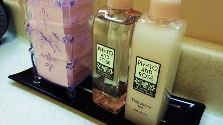 【女性浴場】化粧水・乳液・コットン♪