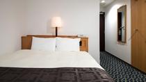 【セミダブルルーム】14平米/140cm幅ベッド