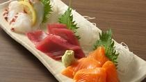 お刺身3種盛り合わせ【夕食】