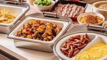 【朝食】元気の源、朝ごはん。たっぷりお召し上がりください。