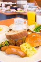 朝食バイキング 例