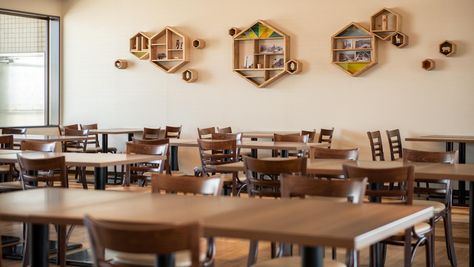 展望レストラン〜木のぬくもりを感じるレストラン