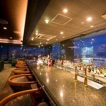 ◆14Fバー~市内の夜景も楽しめます~