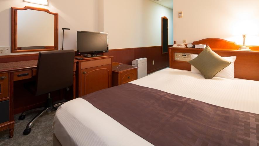 シングルルーム~14平米/広々ベッドでごゆっくりおやすみください