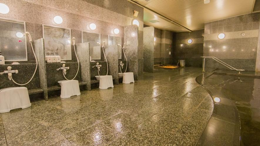 洗い場の数も豊富!