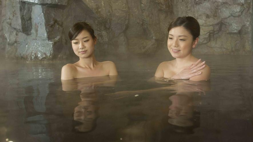 天然モール温泉でしっとり美肌