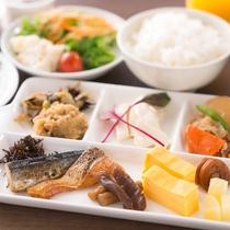 朝食ブッフェ[和食]盛合せの一例