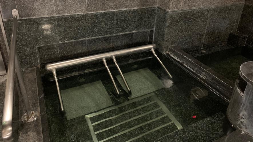 サウナーには嬉しい水風呂も完備