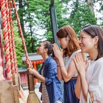 箱根神社(お車で20分)