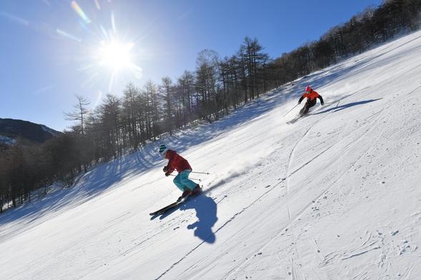 【朝食付き】アサマ2000 スノーボード・スキープラン 1日リフト券付