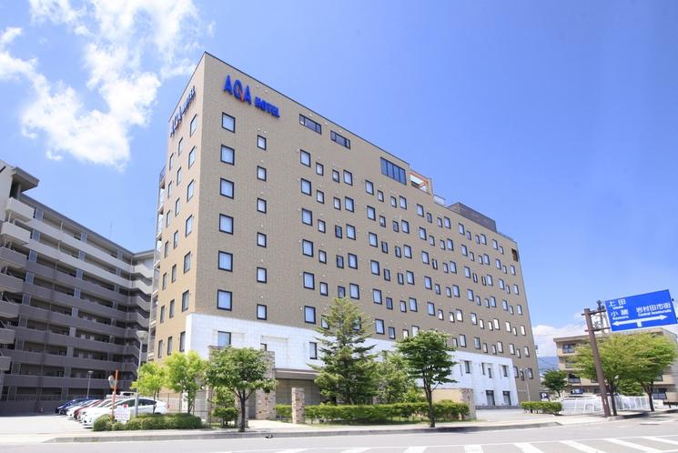 アクアホテル佐久平外観