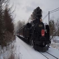 【SL冬の湿原号】 1月下旬〜3月上旬まで運行しております