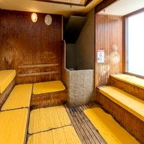 【パコの湯・男性浴場】 12階男性サウナ
