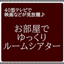 VOD・ルームシアタープラン