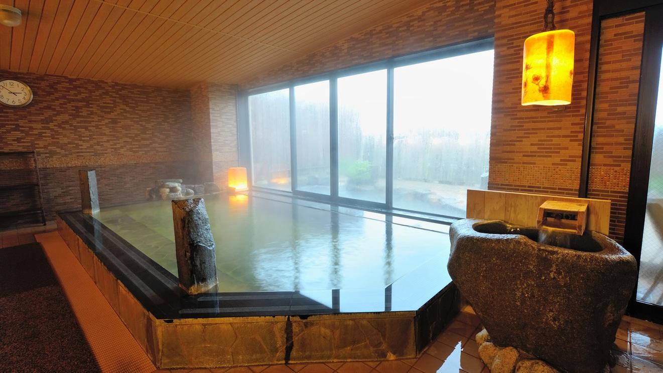 ◆女性大浴場 内湯 中通温泉こまちの湯