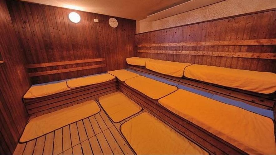 ◆男性大浴場 サウナルーム 営業時間15:00~翌10:00(深夜1:00~5:00は停止)