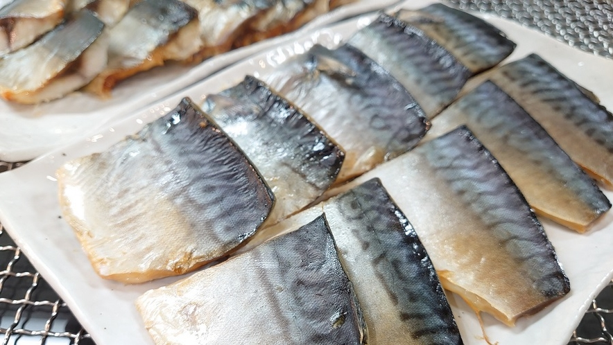 【朝食】◆魚料理(一例)◆