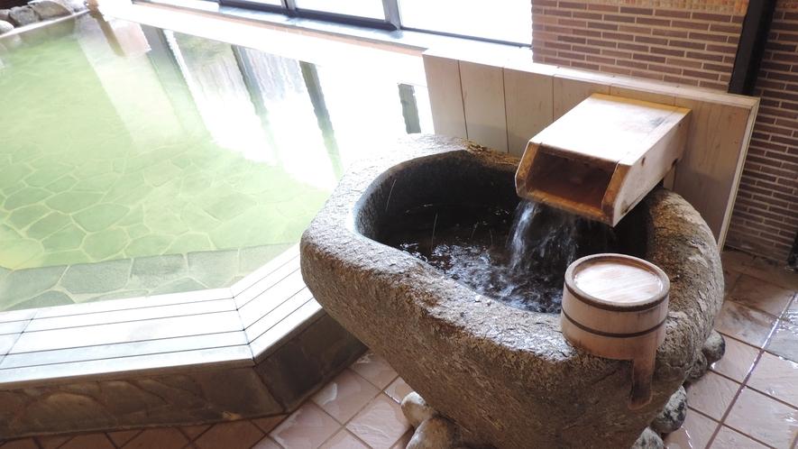 ◆女性大浴場 かけ湯