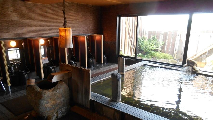 ◆男性大浴場 内湯 天然温泉こまちの湯