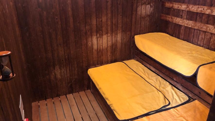 ◆女性大浴場 サウナルーム 営業時間:15:00~翌10:00