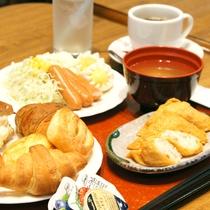 和洋食バイキング朝食(組み合わせ例)