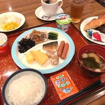 和洋食バイキング朝食(和食メイン・組み合わせ例)