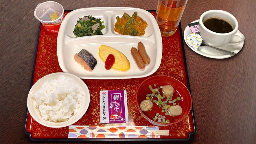 朝食B(和定食)※一例 朝食は和定食(日替わり)でご提供しています!