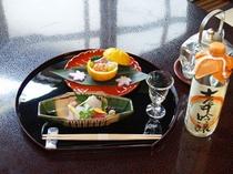 料理長こころづくしの懐石料理や一品料理を、お好みにあわせてご賞味いただきたいとおもいます。