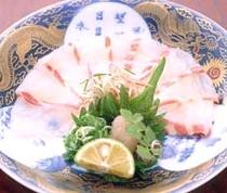食事例「鯛薄造里」