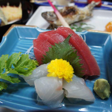 お造り 〜豆腐料理・しし鍋料理コース 共通〜