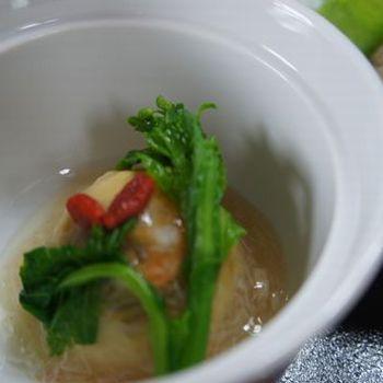 手作りの煮物 〜豆腐料理・しし鍋料理コース共通〜