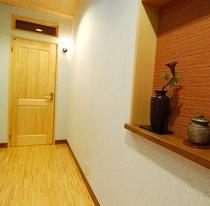 別館の廊下