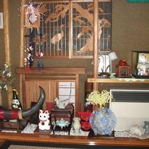 館内装飾品