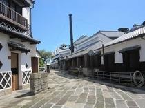 明治蔵(蔵の見学)