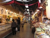 枕崎お魚センター内(買い物市場)
