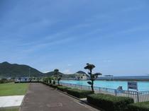 台場公園プール(海水プール)