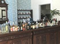 地元 薩摩酒造の焼酎コーナー