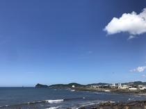 ホテルから東シナ海の絶景 昼