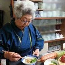 *[名物女将]お手製のお料理にはファンも多い♪食材にこだわり、素朴で美味しいおふくろの味。