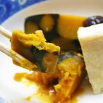 *[夕食一例]やさしく素朴な味付けはまさにおふくろの味!