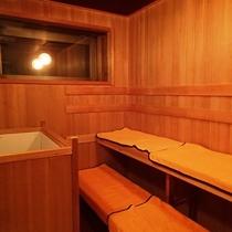 大浴場にはサウナ併設(営業時間16:00~24:00)