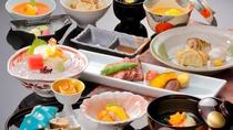 【日本料理】「やまなみ」厳選食材を使用したグレードアップ会席コース ※イメージ