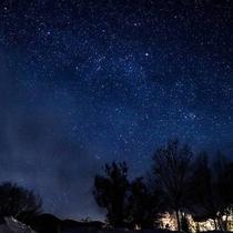 裏磐梯の満天の星空