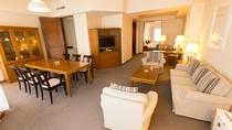 【スイートルーム】最上階 87.10㎡ 贅沢な空間で、贅沢なひと時を。