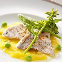 魚料理(フランス料理イメージ)
