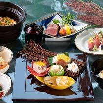 日本料理・特選会席「 匠 」(秋ver.イメージ)板長渾身のコース