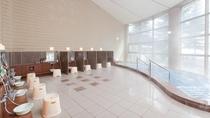 【温泉大浴場】開放感のある温泉大浴場『ぶなの湯』 [営業時間]6:00~24:00